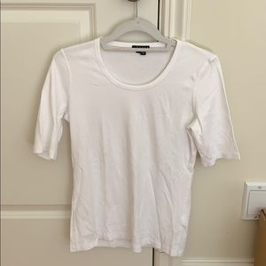 Theory white T shirt